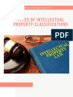Types of Intellectual Property Classifications