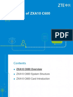 ZXA10 C600(V1.0) xPON System introduction.ppt