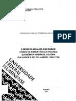 Tese História A Morfologia da Escassez 1990