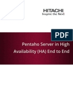 Pentaho Server in HA End to End