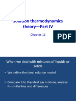 Ideal solution and excess functions-Ch11-IV