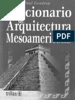 Gendrop, Paul. - Diccionario de Arquitectura Mesoamericana [1997]
