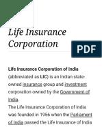Life Insurance Corporation - Wikipedia