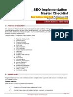 Contract Templates_SEO Checklist_SEO Implementation Checklist.doc
