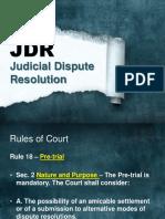 04 Judicial Dispute Resolution