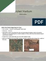 Stadium Studies After Corrections