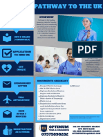 Process flow and timeline of Nurse Work visa in UK