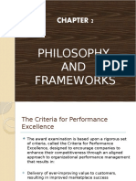 The Criteria for Performance Excellence (TQM)