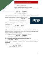 Contabilitatea Instituțiilor de Credit Tema an Cig Sem 1