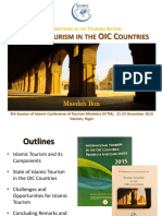 1293 SESRIC Presentation on State of Islamic Tourism in the OIC
