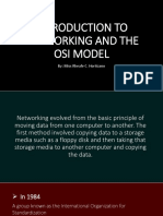 Introduction to Networking and the Osi Model