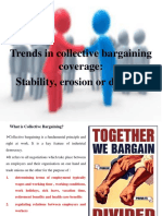 Industrial Relation Trends in Collective Bargaining