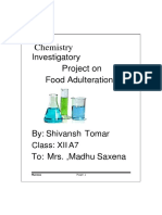 12 chemistry project on food adulteration.docx