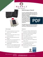 MS325 Emergency Telegraph Brochure