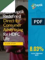 HDFC-Life-Case-Study