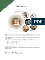 Five Topics of Bhagavad - ISKCON Bangalore