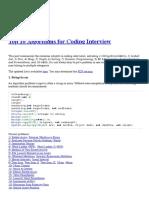 Top 10 Algorithms for Coding Interview.pdf
