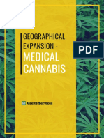 Geographical Expansion of Medical Cannabis based on Disease Prevelance