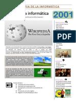 Historia de La Informática 2001