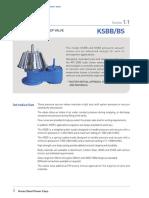 KSBB-BS Breather Valve Data Sheet