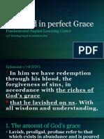 lavished grace