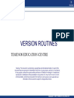 1. Version Routines(PPT)