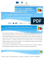 Managementul carierei prin dezvoltare personala si profesionala_Spiru Haret
