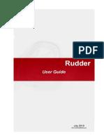 BV Rudder_UserGuide