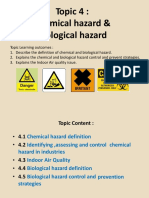 chemical hazard and biological hazard