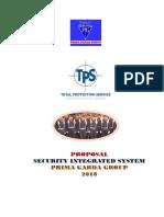DAFTAR ISI I. PENDAHULUAN... 1 II. RENCANA PENGAMANAN (SECURITY PLAN)... 2.pdf