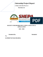 0_Summer Internship Project Report