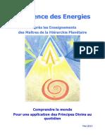 La SCIENCE DES ENERGIES CDF-J 30.04.2014