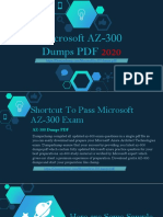 Microsoft AZ-300 Dumps PDF - Get All Updated AZ-300 Exam Question