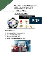 TUGAS PRAKARYA SMPN 1 SRENGAT TAHUN PELAJARAN 2018