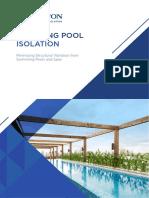 Swimming Pool Isolation