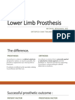Lower Limb Prosthesis