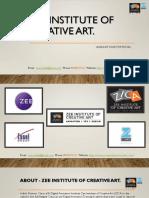 Zee institute of creative art.