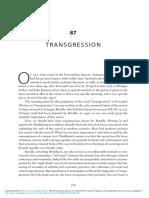 The Cambridge Foucault Lexicon - Transgression