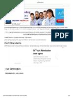 Unit 3 CAD Standards