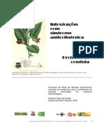Intoxicações com Síndrome anticolinérgica