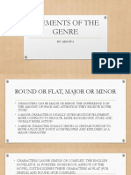 ELEMENTS OF THE GENRE