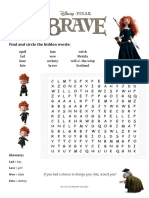 Brave - Movie Activity