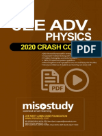 Crash Course JEE Main Advanced Sample eBook