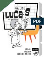 MAESTRO el laboratorio de Lucas