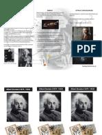 triptico Einstein