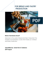 ENGLISH FOR BREAD AND PASTRY PRODUCTION