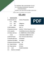 SILABO COSTOS Y PRESUPUESTOS - NEGOCIOS INTERNACIONALES 2017 II