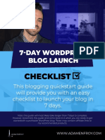 7-Day-WordPress-blog-launch