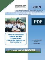 DIRECTIVA FIN DE AÑO 2019 ugel morropon piura