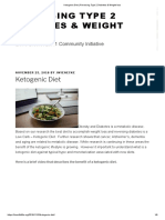 Ketogenic Diet _ Reversing Type 2 Diabetes & Weight loss